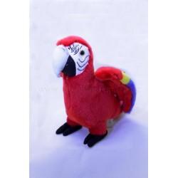 Plyšový Papoušek Ara arakanga