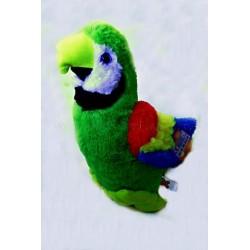 Plyšový Papoušek Zelený