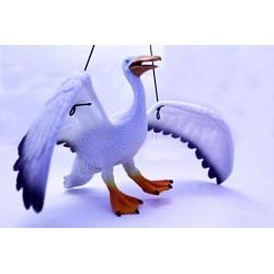 Gumový Letící Pelikán